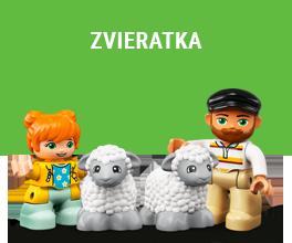 LEGO zvieratá