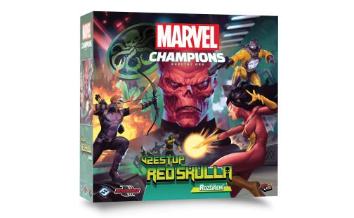 ADC Blackfire Marvel Champions LCG: Vzestup Red Skulla - rozšíření
