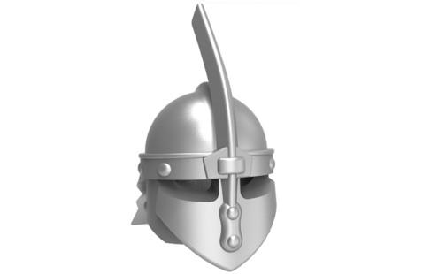 Rytířská středověká přilba