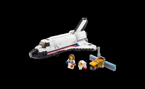 LEGO® Creator 31117 Vesmírné dobrodružství s raketoplánem