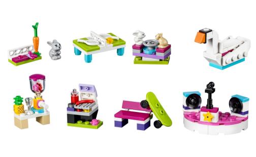 LEGO Friends 40264 Postav si svoje mestečko Heartlake