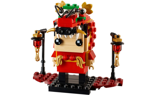 LEGO BrickHeadz 40354 Dračí tanečník - detail