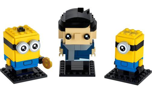 LEGO BrickHeadz 40420 Gru, Stuart a Otto