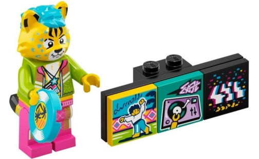 LEGO Minifigurky 43101 VIDIYO - DJ Cheetah (4.)