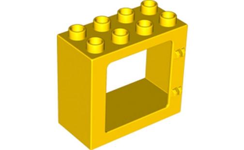 Duplo kostka zárubně  žluté