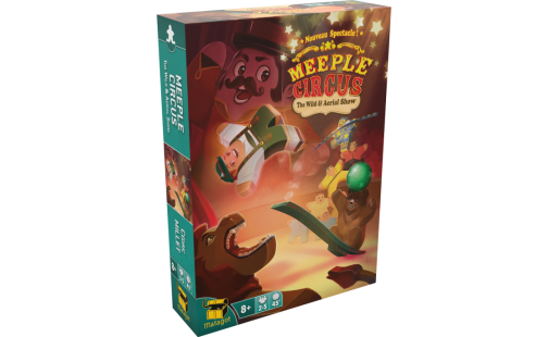 REXhry Meeple Circus The Wild Animal & Aerial Show
