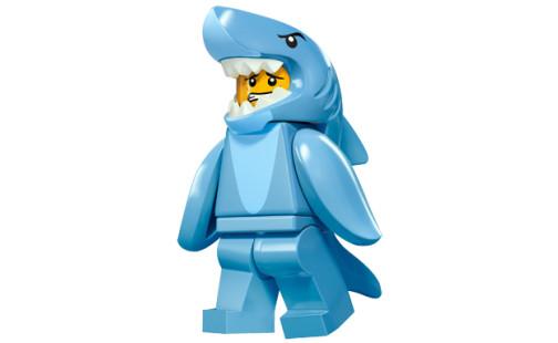 LEGO 71011 Minifigurky - 15. série - 13 - Chlapík v žraločím kostýme