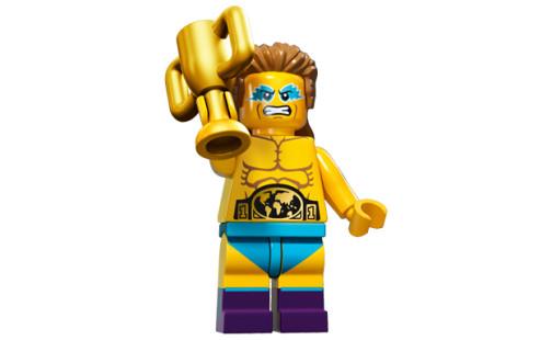 LEGO 71011 Minifigurky - 15. série - 14 - Šampion ve wrestlingu