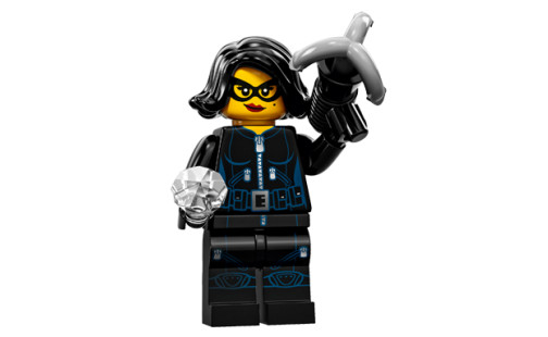 LEGO 71011 Minifigurky - 15. série - 15 - Zlodějka drahokamů