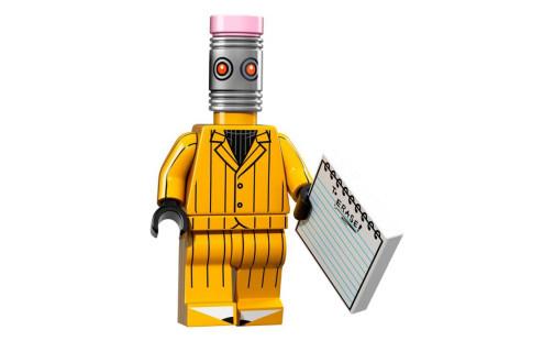 Lego 71017 Minifigurky Batman 12 - Eraser - Guma