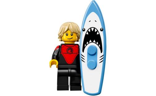 Lego 71018 Minifigurky 17. série - 01 - Surfař