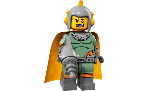 Lego 71018 Minifigurky 17. série - 11 - Retro kosmonaut