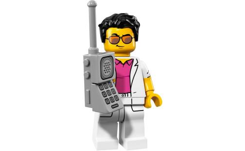 Lego 71018 Minifigurky 17. série - 12 - Yuppie