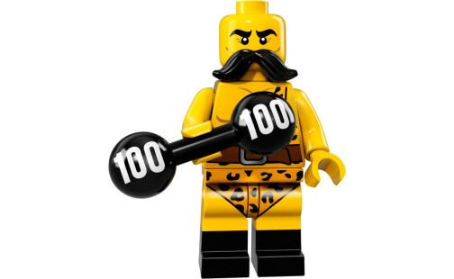 Lego 71018 Minifigurky 17. série - 02 - Silák z cirkusu