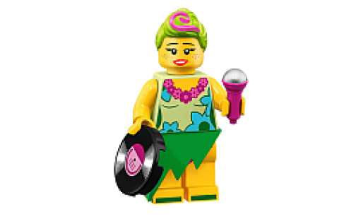 Lego Minifigurky 71023 Movie 2 07- Hula Lula