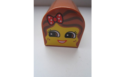 Duplo®  kostka obličej holčička
