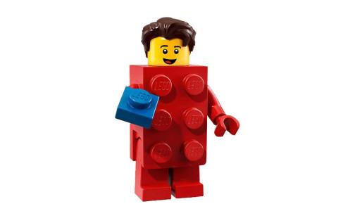 Lego 71021 Minifigurky 18. série - 2 - Kostým Červená kostka