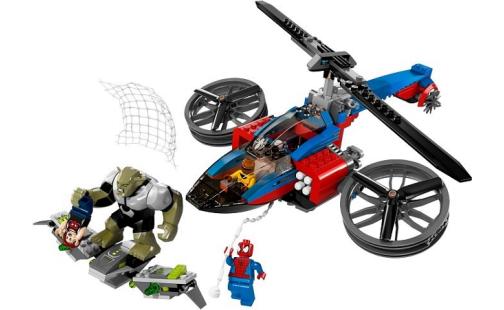 LEGO Super Heroes 76016 Pavoučí záchranný vrtulník