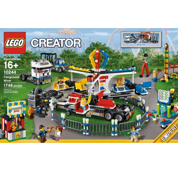 Lego 10244 Fairground Mixer obal čelo