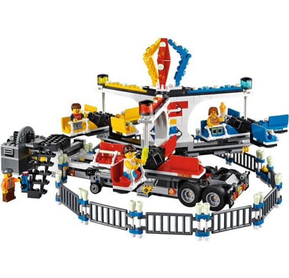 Lego 10244 Fairground Mixer obsah