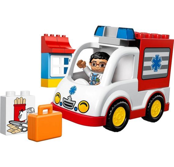 LEGO Duplo 10527 Sanitka vůz