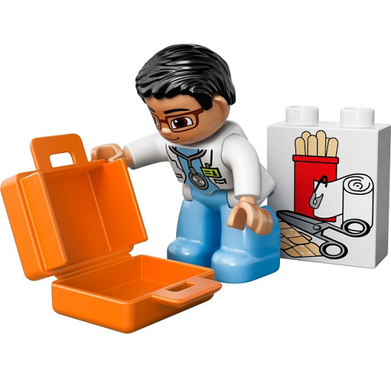 LEGO Duplo 10527 Sanitka obsah