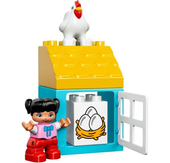 LEGO Duplo 10617 - Moje první farma kurník