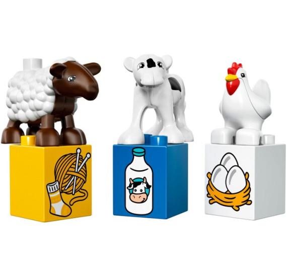 LEGO Duplo 10617 - Moje první farma zvířata