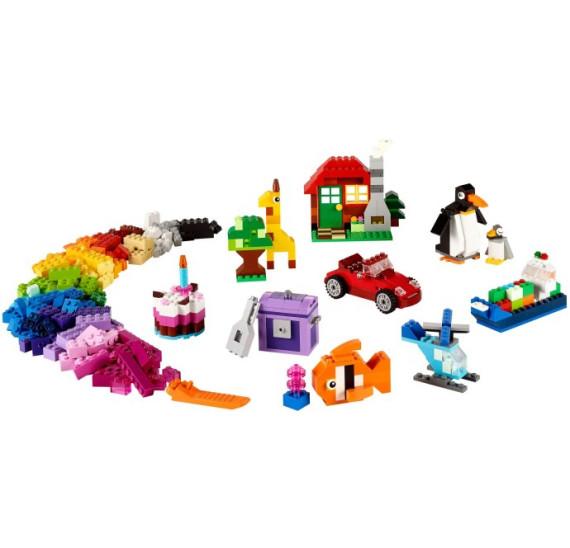 LEGO 10695 Classic Kreativní box součásti