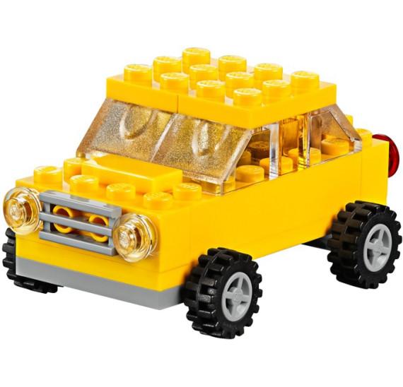 LEGO Classic 10696 - Kreativní box auto žluté