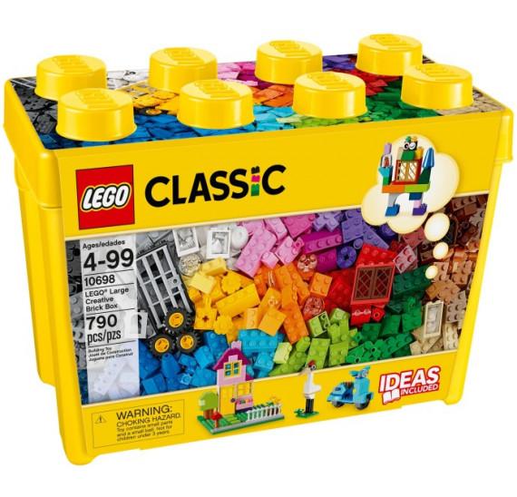 LEGO Classic 10698 Velký kreativní box obal