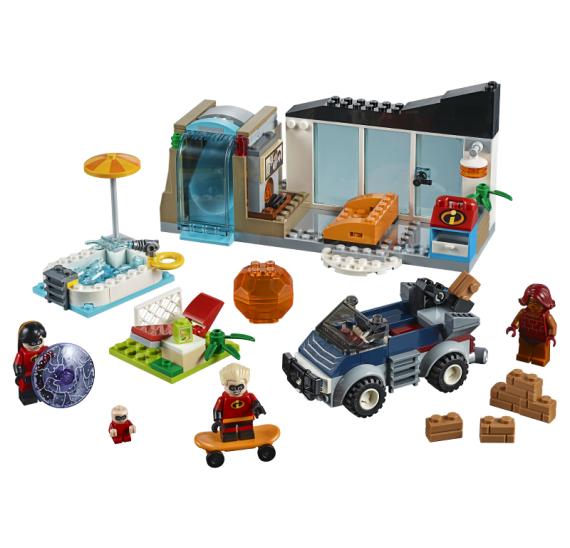 LEGO Juniors 10761 Velký útěk z domu - detail