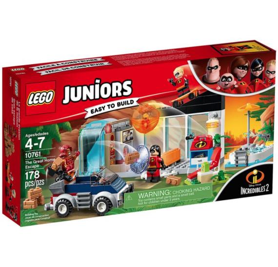 LEGO Juniors 10761 Velký útěk z domu - baleni