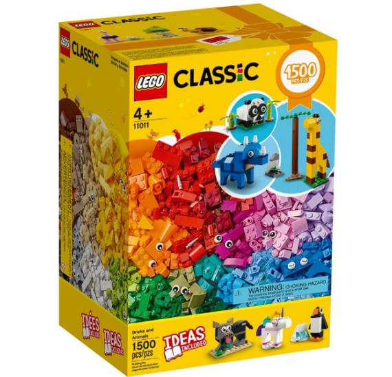 LEGO Classic 11011 Kostky a zvířátka - balení