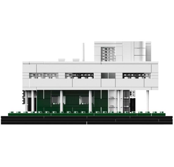 LEGO 21014  Villa Savoye stavba z čela