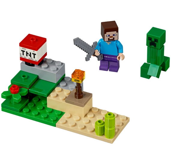 LEGO 30393 Steve and Creeper Set (polybag)