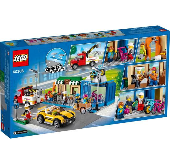 LEGO City 60306 Ulice s obchůdky