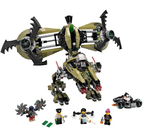 LEGO Ultra Agents 70164 - Úder Hurikánu 4