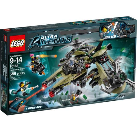 LEGO Ultra Agents 70164 - Úder Hurikánu obal