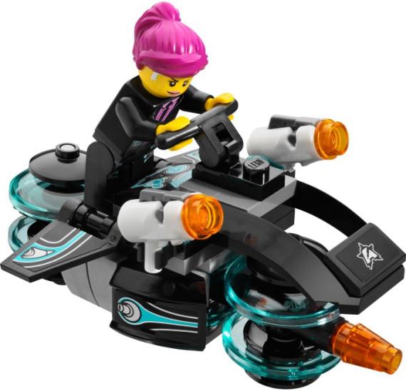 LEGO Ultra Agents 70164 - Úder Hurikánu motorka