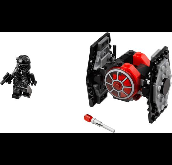 Lego Star Wars 75194 Mikrostíhačka Prvního řádu TIE Fighter - detail