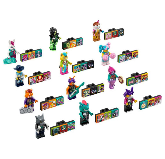 LEGO Minifigurky 43101 VIDIYO - Ufon kytarista (9.)