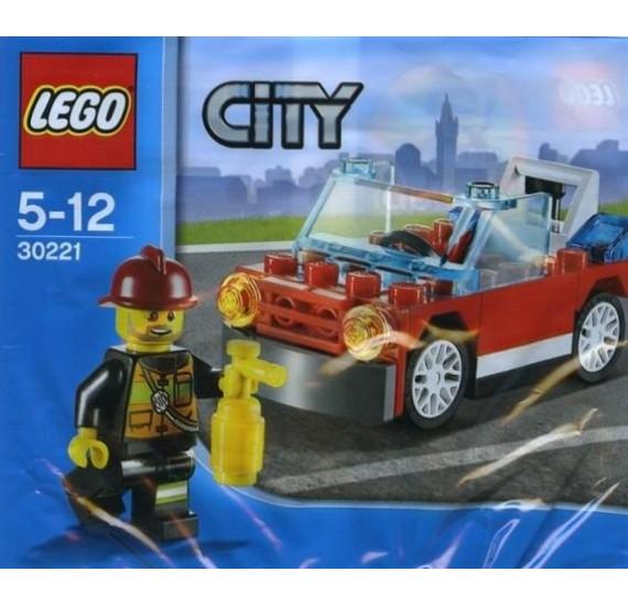 Lego City 30221 Hasičské auto