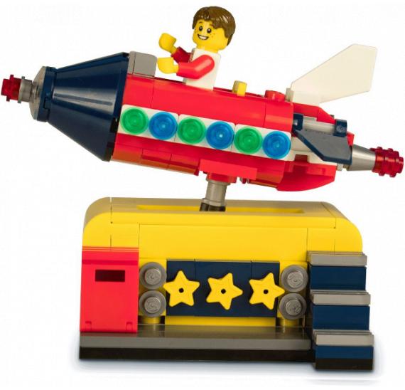 LEGO 40335 Space Rocket Ride